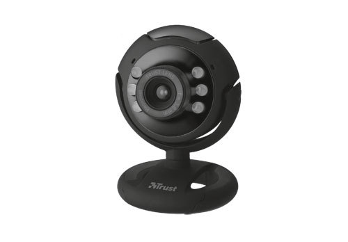 Trust SpotLight Pro webcam 1.3 MP 1280 x 1024 pixels USB 2.0 Black