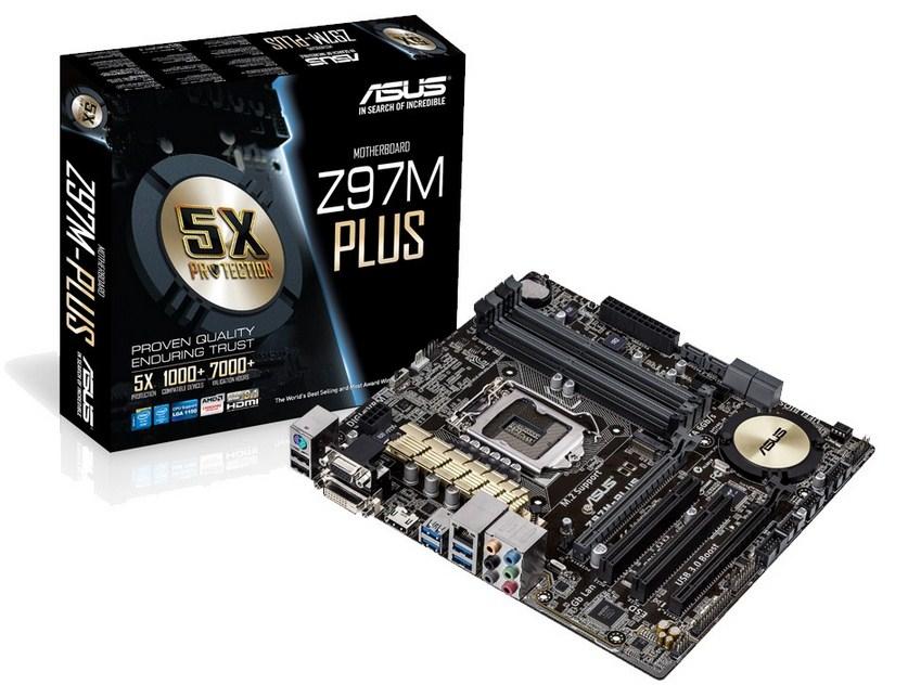 ASUS Z97M-PLUS motherboard