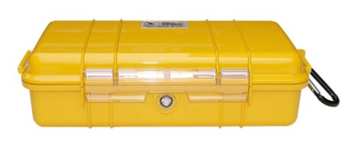 Peli 1060 Carry-on Yellow Rubber,Stainless steel