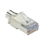 Black Box C6EZSP-25PAK wire connector EZ-RJ-45 Silver