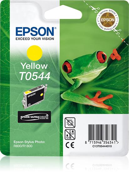 Epson Frog Cartucho T0544 amarillo (etiqueta RF)