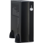 Inter-Tech Mini ITX E-3002 60W Mini-Tower 60W Black computer case