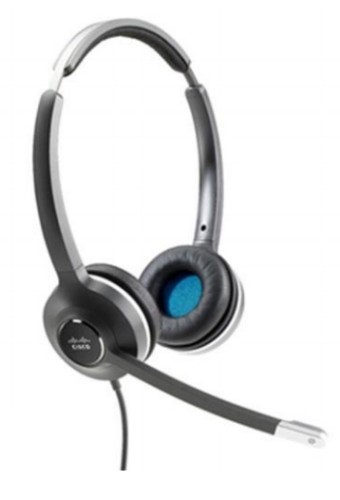 Cisco 532 Binaural Head-band Black,Grey