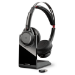 POLY Voyager Focus UC B825 Headset Head-band Bluetooth Charging stand Black