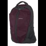 "Manhattan Airpack 15.6"" Backpack Black,Bordeaux"