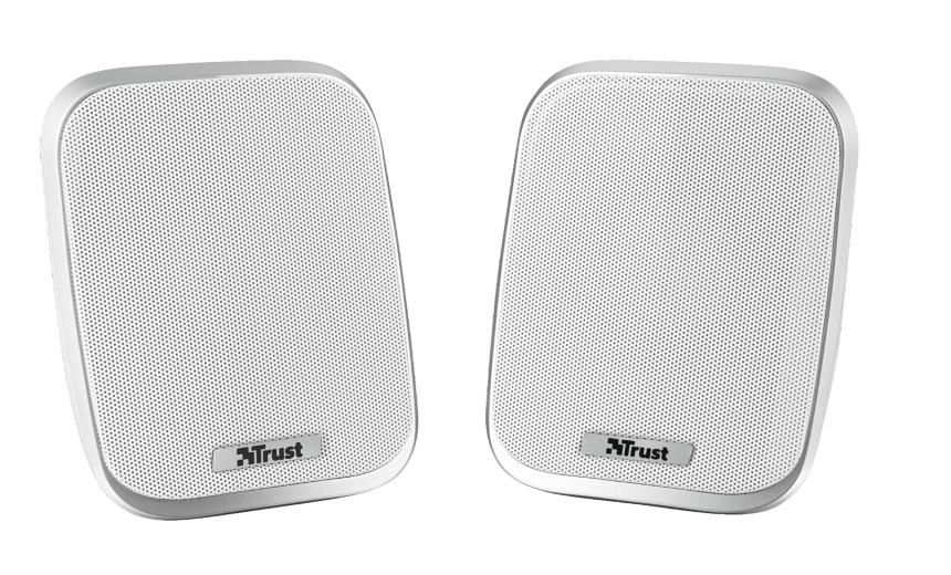 Trust Porto 12W White loudspeaker