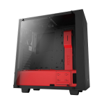 NZXT Black & Red S340 Elite Mid Tower Chassis
