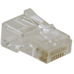 Tripp Lite N030-010 RJ45 M Transparent wire connector