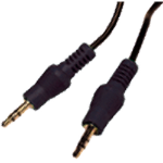 Cablenet 3.5mm x 3.5mm 2m 2m 3.5mm 3.5mm Black audio cable