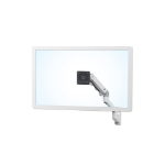 "Ergotron 45-478-216 42"" Bolt-through White flat panel desk mount"