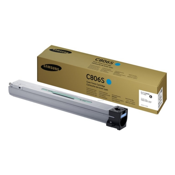 Samsung CLT-C806S/ELS (C806S) Toner cyan, 30K pages @ 5% coverage