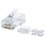 Intellinet 790550 wire connector RJ45 Transparent