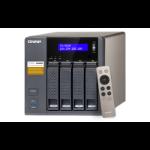 QNAP TS-453A NAS Tower Ethernet LAN Black,Grey