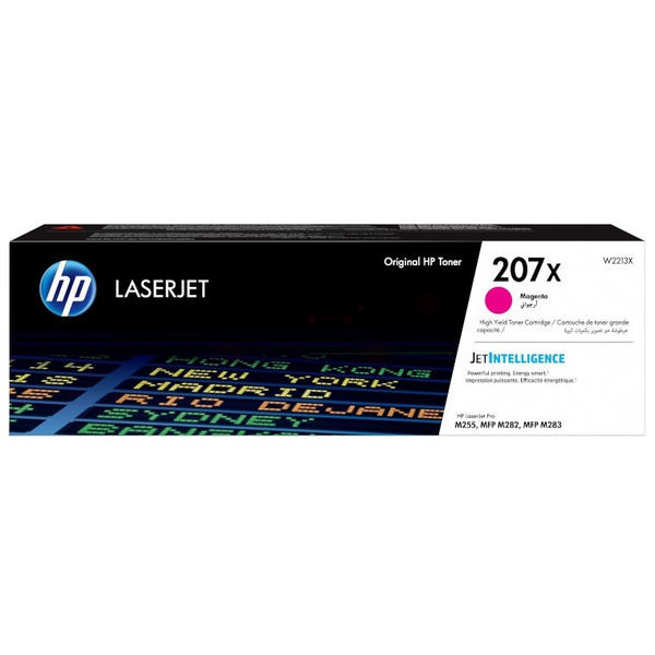 HP W2213X (207X) Toner magenta, 2.45K pages