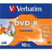 Verbatim DVD-R 4.7GB 16x 10 Pack JC