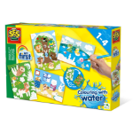 SES Creative My First Colouring with water - Hidden animals