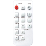 Vision SP-1800P RC remote control IR Wireless Silver Press buttons