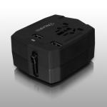 Aluratek ATCP03F power plug adapter Black