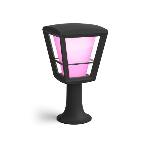 Philips Hue White and colour ambience Econic Outdoor Pedestal Light