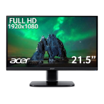 Acer KA2 KA222Qbi 21.5 inch FHD Monitor (IPS Panel, FreeSync, 75Hz, 1ms, HDMI, VGA, Black)