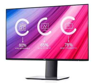 """DELL UltraSharp U2419H LED display 60.5 cm (23.8"""") 1920 x 1080 pixels Full HD Flat Matt Silver"""