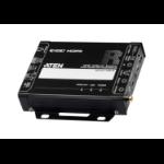 ATEN VE2812R AV extender AV receiver Black