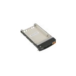 Supermicro MCP-220-00127-0B drive bay panel Storage drive tray Black,White