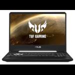"ASUS TUF Gaming FX505DT-HN462T notebook Black 39.6 cm (15.6"") 1920 x 1080 pixels AMD Ryzen 5 8 GB DDR4-SDRAM 1512 GB HDD+SSD NVIDIA® GeForce® GTX 1650 Wi-Fi 5 (802.11ac) Windows 10 Home"