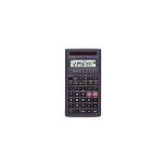 Casio FX-82Solar Desktop Scientific Black calculator