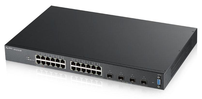 Zyxel XGS2210-28 Gestionado L2 Gigabit Ethernet (10/100/1000) Negro 1U