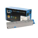 Click, Save & Print Remanufactured Oki 44059167 Cyan Toner Cartridge