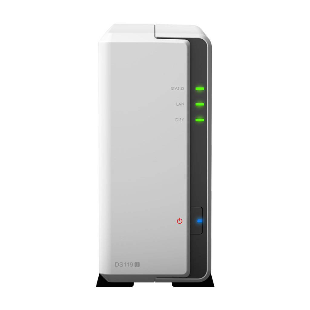 Synology DiskStation DS119j Ethernet LAN Tower Grey,White NAS