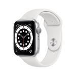 Apple Watch Series 6 OLED 44 mm Silver GPS (satellite)