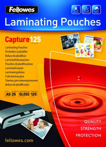 Fellowes ImageLast A5 125 Micron Laminating Pouch - 25 pack