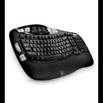 Logitech K350 keyboard RF Wireless QWERTY English Black
