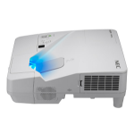 NEC UM301X Projector - 3000 Lumens - XGA - 4:3 - Short Throw Projector