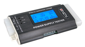 Lindy ATX Power Supply Tester battery tester