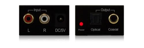 Blustream ADC11AU audio converter Black
