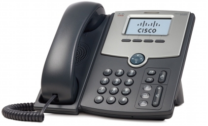 Cisco SPA 502G IP phone Wired handset LCD