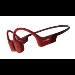 Aftershokz Aeropex Headset Neck-band Bluetooth Red
