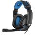 Sennheiser GSP 300 Binaural Diadema Negro, Azul