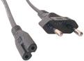 MCL Power Cord Portable Black 5.0m cable de transmisión Negro 5 m