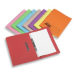 Rexel Jiffex Foolscap Transfer File Orange (50)