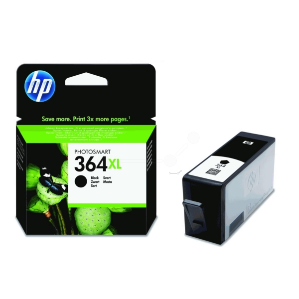 HP CN684EE#301 (364XL) Ink cartridge black, 550 pages, 18ml