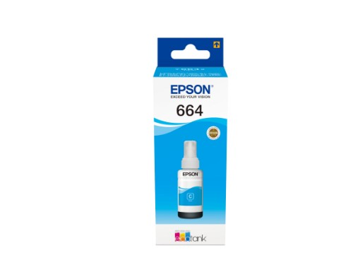 Epson C13T664240 (664) Ink bottle cyan, 6.5K pages, 70ml