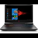 """HP OMEN - 17-an110nr Black Notebook 17.3"""" 1920 x 1080 pixels 8th gen Intel® Core™ i7 i7-8750H 12 GB DDR4-SDRAM 1128 GB HDD+SSD"""