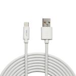 PNY C-UA-LN-W01-10 lightning cable 3 m White