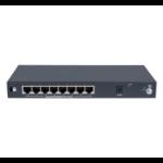 Hewlett Packard Enterprise OfficeConnect 1420 8G PoE+ (64W) Unmanaged L2 Gigabit Ethernet (10/100/1000) Power over Ethernet (PoE) 1U Grey