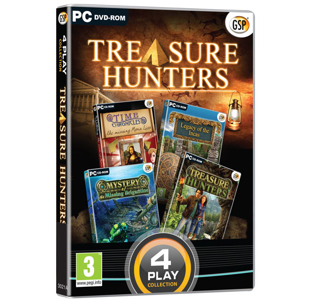 Avanquest 4 Play: Treasure Hunters