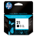 HP 21 Black Inkjet Print Cartridge Original Negro 1 pieza(s)
